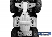 Защита днища POLARIS SPORTSMAN XP 1000 (С 2016гв) RIVAL 444.7439.1