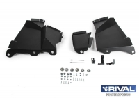 Защита арок POLARIS Polaris Ranger XP 1000 c 2018- г RIVAL 444.7463.1